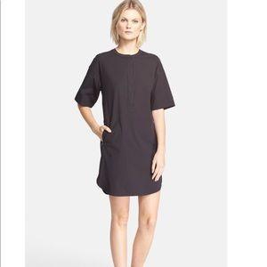 Theory Floryn Black Shift Dress